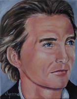 Matthew McConaughey Celebrity Painting