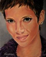 Halle Berry Celebrity Painting