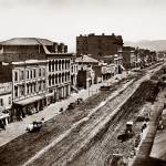 """View West up Market Street c1865"" by worldwidearchive"