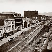 """View West up Market Street c"" by WorldWide Archive"