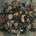 """Delacroix Boquet Of Flowers"" by oldies"