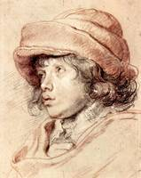 Rubens' Son Nicholas by Peter Paul Rubens