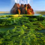 """Green Fly Geyser"" by Inge-Johnsson"