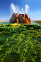 Green Fly Geyser