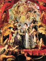 Replacing the Medici Princess by Peter Paul Rubens