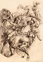 Reiter Battle by Peter Paul Rubens