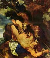 Prometheus Bound by Peter Paul Rubens