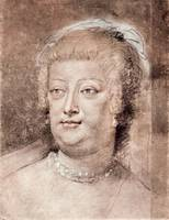 Portrait of Maria de Medici by Peter Paul Rubens