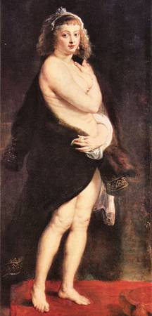 Portrait of Fourment by Peter Paul Rubens