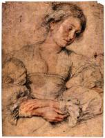 Portrait of a Young Woman by Peter Paul Rubens