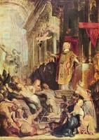 Miracles of St. Ignatius of Loyola by Paul Rubens