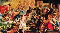 Medicis and the Apotheosis of Henry IV by Rubens