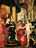 Medici Treaty by Peter Paul Rubens
