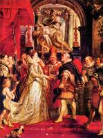 Medici Marriage in Florence by Peter Paul Rubens