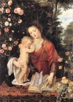Mary with Child by Peter Paul Rubens