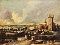 Landscape with Tower of Castle Steen by Rubens