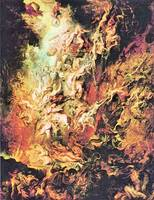 Hell Overthrow of the Damned by Peter Paul Rubens