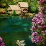 """Hidden Lake by Dyanne Parker"" by DyanneParkerArt"