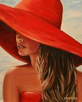 Lady in Red by Dyanne Parker