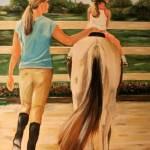 """Young Equestrian by Dyanne Parker"" by DyanneParkerArt"