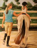 Young Equestrian by Dyanne Parker