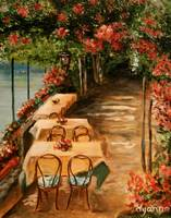 Lakeside Cafe by Dyanne Parker