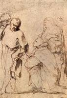 Figure Study by Peter Paul Rubens