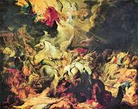 Defeat Sanheribs by Peter Paul Rubens