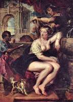 Bathsheba at the Fountain by Peter Paul Rubens