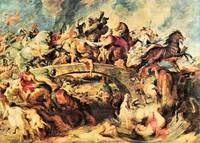 Amazon Battle by Peter Paul Rubens