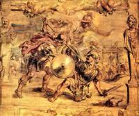 Achilles Defeats Hector by Peter Paul Rubens