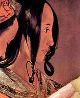 Woman's Head in Profile by Georges de La Tour