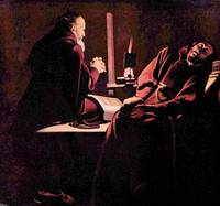 The Rapture of St. Francis by Georges de La Tour