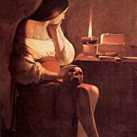 """Mary Magdalene by Georges de La Tour"" by ArtLoversOnline"