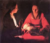 Birth of Christ by Georges de La Tour