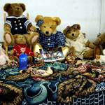 """Blue Ribbon Boyds Bear Collection"" by vonAshPhotography"