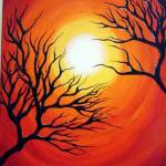 """Orange Sunset"" by bellaitalia"