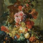 """Van Huysum Flower and Fruit Piece"" by oldies"