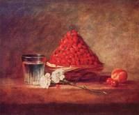 The Strawberry Basket by Jean Chardin