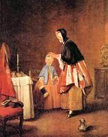 The Morning Toilet by Jean Chardin