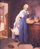 The Bread by Jean Chardin