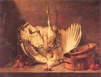Still Life with Turkey by Jean Chardin