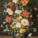 """Brueghel the Younger Flowers in a Metal Vase"" by oldies"