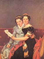Portrait of the Daughters of Joseph Bonaparte