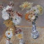 """Caillebotte Four Vases of Chrysanthemums"" by oldies"