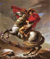 Napoleon Crosses the Great St. Bernard Pass