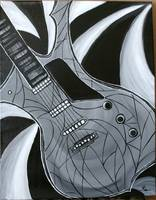 Black & White guitar