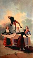 The Jumping Jack by Francisco Goya