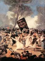 The Funeral of Sardina by Francisco Goya