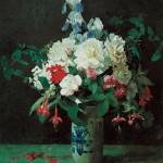 """Lambdin Flowers in a vase"" by oldies"